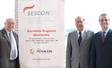 Sescon/MG inaugura escritório regional em Uberlândia