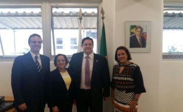SESCONMG E CRCMG reúnem-se com Advogado Geral do Estado