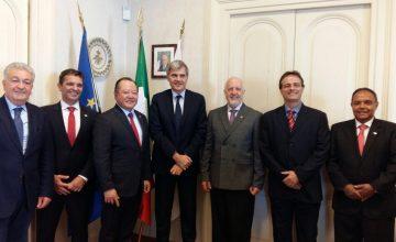 Presidente do SESCONMG participa de projeto de internacionalização na Itália
