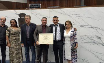 Homenagem ao Sindicato dos Técnicos de Segurança do Trabalho de Minas Gerais
