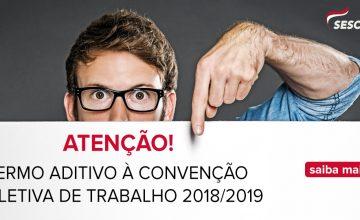 II Termo Aditivo à Convenção Coletiva de Trabalho 2018/2019