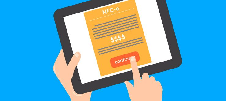 nota Fiscal de Consumidor Eletrônica - NFC-e.