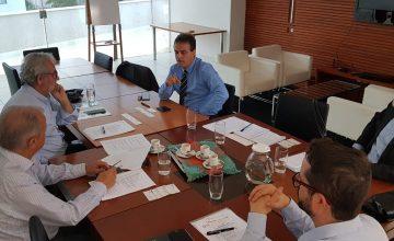 Presidente do SESCON/MG participa de reunião com presidente da Câmara de Comércio Italiana