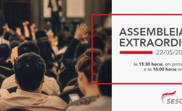 Convocação para Assembléia Geral Extraordinária – CCT 2019/2020