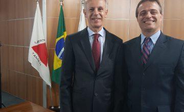 Sauro Henrique é empossado, sendo reconduzido como vogal e assume a vice-presidência da Junta Comercial do Estado de Minas Gerais