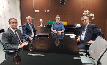 PRESIDENTE DO SESCON/MG PARTICIPA DE REUNIÃO COM O GOVERNADOR DE MINAS GERAIS