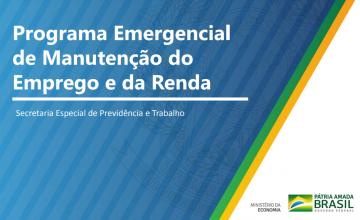 Governo lança Programa Emergencial de Manutenção do Emprego para enfrentar efeitos econômicos da Covid-19