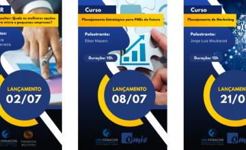 Confira os lançamentos de cursos para o mês de julho