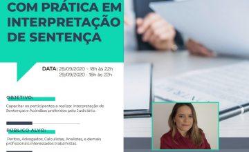 CURSO -LÍNGUA PORTUGUESA PARA PERITOS COM PRÁTICA EM INTERPRETAÇÃO DE SENTENÇA