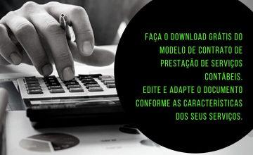Modelo de Contrato de Prestação de Serviços Contábeis para download – Baixe o documento gratuitamente!