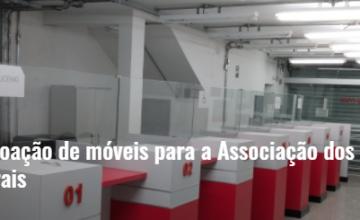 Jucemg faz doação de móveis para a Associação dos Hemofílicos de Minas Gerais