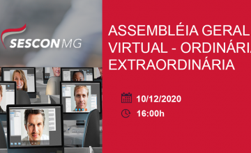 CONVOCAÇÃO – Assembleia Geral Ordinária e Extraordinária Virtual