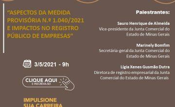 CAFÉ COM OS CONTABILISTAS – ASPECTOS DA MEDIDA PROVISÓRIA Nº 1.040/2021 E IMPACTOS NO REGISTRO PÚBLICO DE EMPRESAS