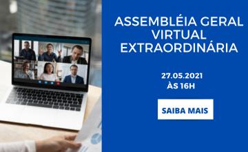 EDITAL DE CONVOCAÇÃO – Assembleia Geral Extraordinária – Virtual