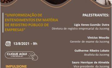 """Café com o Contabilista online sobre o tema """"Uniformização de entendimentos na atuação do profissional contábil – Registro Público de Empresas"""""""