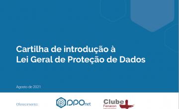 Cartilha de introdução à Lei Geral de Proteção de Dados