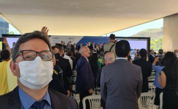 Presidente do SESCONMG participa de evento de Privatização do metrô da capital mineira e investimento no Centro Nacional de Vacinas em BH